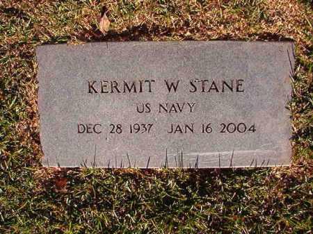 STANE (VETERAN), KERMIT W - Pulaski County, Arkansas | KERMIT W STANE (VETERAN) - Arkansas Gravestone Photos