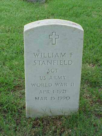 STANFIELD (VETERAN WWII), WILLIAM F - Pulaski County, Arkansas | WILLIAM F STANFIELD (VETERAN WWII) - Arkansas Gravestone Photos