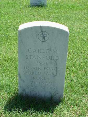 STANFORD (VETERAN 3 WARS), CARLE M - Pulaski County, Arkansas | CARLE M STANFORD (VETERAN 3 WARS) - Arkansas Gravestone Photos