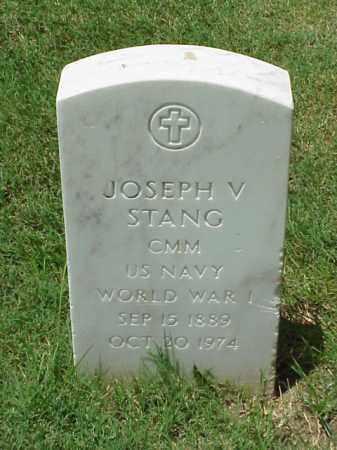 STANG (VETERAN WWI), JOSEPH V - Pulaski County, Arkansas | JOSEPH V STANG (VETERAN WWI) - Arkansas Gravestone Photos
