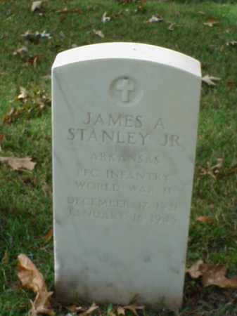 STANLEY, JR (VETERAN WWII), JAMES A - Pulaski County, Arkansas | JAMES A STANLEY, JR (VETERAN WWII) - Arkansas Gravestone Photos