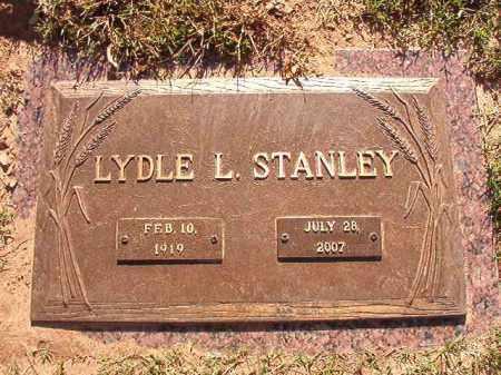 STANLEY, LYDLE L - Pulaski County, Arkansas | LYDLE L STANLEY - Arkansas Gravestone Photos