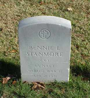 STANMORE (VETERAN WWII), BENNIE L - Pulaski County, Arkansas | BENNIE L STANMORE (VETERAN WWII) - Arkansas Gravestone Photos