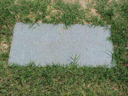 STANTON, SR (VETERAN WWI), SAMUEL - Pulaski County, Arkansas | SAMUEL STANTON, SR (VETERAN WWI) - Arkansas Gravestone Photos