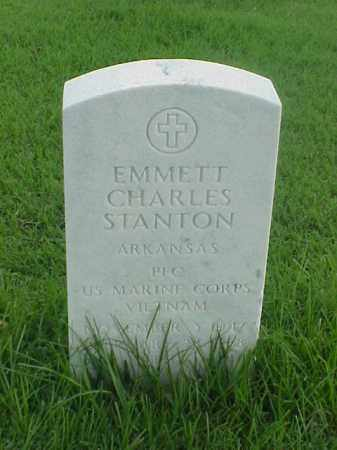 STANTON (VETERAN VIET), EMMETT CHARLES - Pulaski County, Arkansas | EMMETT CHARLES STANTON (VETERAN VIET) - Arkansas Gravestone Photos