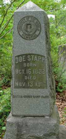 STAPP, JOE - Pulaski County, Arkansas | JOE STAPP - Arkansas Gravestone Photos