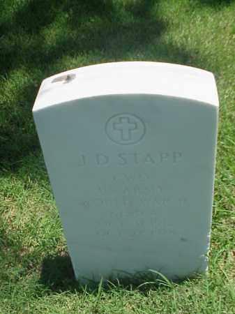 STAPP (VETERAN 2 WARS), J D - Pulaski County, Arkansas | J D STAPP (VETERAN 2 WARS) - Arkansas Gravestone Photos