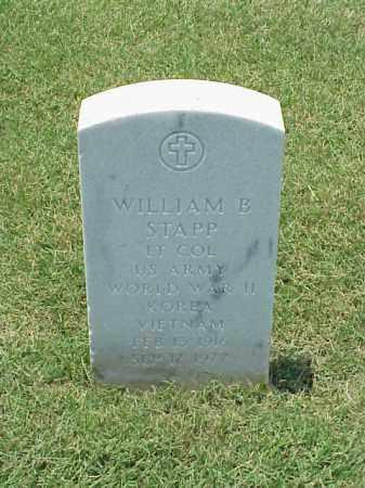 STAPP (VETERAN 3 WARS), WILLIAM B - Pulaski County, Arkansas | WILLIAM B STAPP (VETERAN 3 WARS) - Arkansas Gravestone Photos