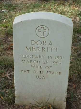 MERRITT STARK, DORA - Pulaski County, Arkansas | DORA MERRITT STARK - Arkansas Gravestone Photos
