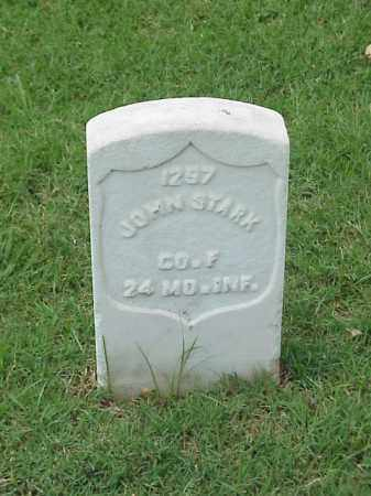 STARK (VETERAN UNION), JOHN - Pulaski County, Arkansas | JOHN STARK (VETERAN UNION) - Arkansas Gravestone Photos