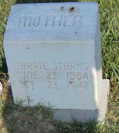 STARKS, CARRIE - Pulaski County, Arkansas | CARRIE STARKS - Arkansas Gravestone Photos