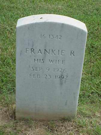 STARKS, FRANKIE R - Pulaski County, Arkansas | FRANKIE R STARKS - Arkansas Gravestone Photos