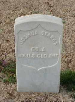 STARKS (VETERAN UNION), JOSHUA - Pulaski County, Arkansas | JOSHUA STARKS (VETERAN UNION) - Arkansas Gravestone Photos