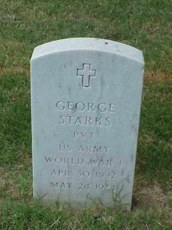 STARKS (VETERAN WWI), GEORGE - Pulaski County, Arkansas | GEORGE STARKS (VETERAN WWI) - Arkansas Gravestone Photos
