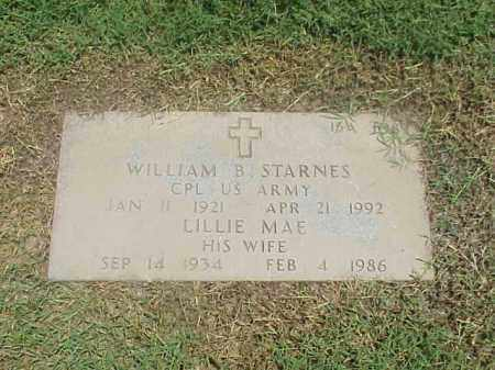 STARNES, LILLIE MAE - Pulaski County, Arkansas | LILLIE MAE STARNES - Arkansas Gravestone Photos