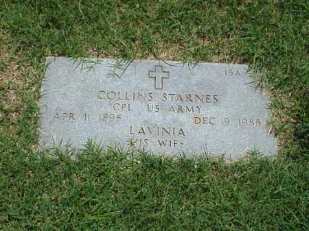 STARNES (VETERANWWI), COLLINS - Pulaski County, Arkansas | COLLINS STARNES (VETERANWWI) - Arkansas Gravestone Photos