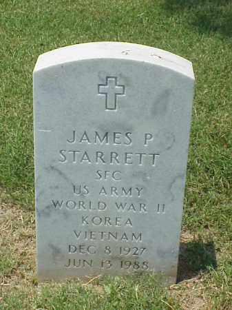 STARRETT (VETERAN 3 WARS), JAMES PRINCE - Pulaski County, Arkansas | JAMES PRINCE STARRETT (VETERAN 3 WARS) - Arkansas Gravestone Photos