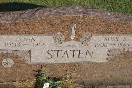 STATEN, SUSIE S. - Pulaski County, Arkansas | SUSIE S. STATEN - Arkansas Gravestone Photos