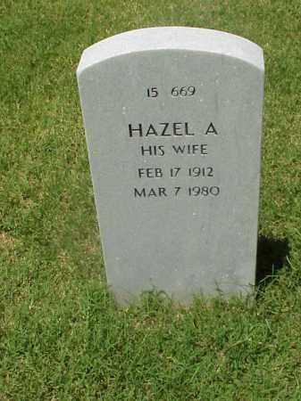 STEED, HAZEL A. - Pulaski County, Arkansas | HAZEL A. STEED - Arkansas Gravestone Photos