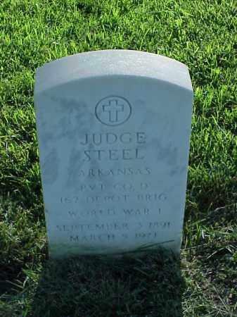 STEEL (VETERAN WWI), JUDGE - Pulaski County, Arkansas | JUDGE STEEL (VETERAN WWI) - Arkansas Gravestone Photos