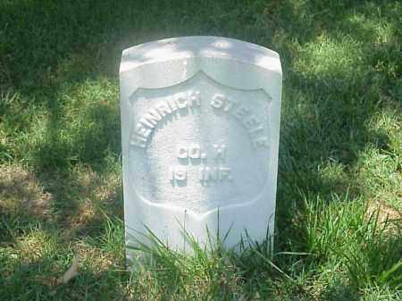 STEELE (VETERAN UNION), HEINRICH - Pulaski County, Arkansas | HEINRICH STEELE (VETERAN UNION) - Arkansas Gravestone Photos