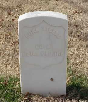STEELE (VETERAN UNION), LUKE - Pulaski County, Arkansas | LUKE STEELE (VETERAN UNION) - Arkansas Gravestone Photos