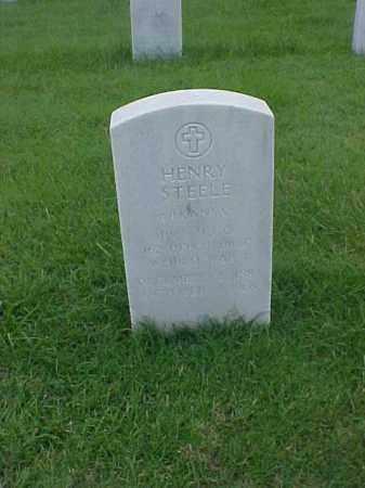 STEELE (VETERAN WWI), HENRY - Pulaski County, Arkansas | HENRY STEELE (VETERAN WWI) - Arkansas Gravestone Photos