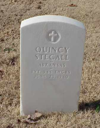 STEGALL (VETERAN WWI), QUINCY - Pulaski County, Arkansas | QUINCY STEGALL (VETERAN WWI) - Arkansas Gravestone Photos