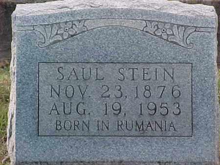 STEIN, SAUL - Pulaski County, Arkansas | SAUL STEIN - Arkansas Gravestone Photos