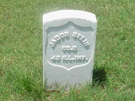 STEIN (VETERAN UNION), JACOB - Pulaski County, Arkansas | JACOB STEIN (VETERAN UNION) - Arkansas Gravestone Photos