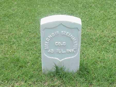 STEINMANN (VETERAN UNION), MELCHOIR - Pulaski County, Arkansas | MELCHOIR STEINMANN (VETERAN UNION) - Arkansas Gravestone Photos