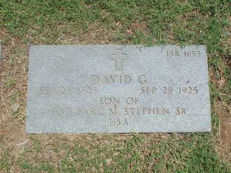 STEPHEN, DAVID G - Pulaski County, Arkansas | DAVID G STEPHEN - Arkansas Gravestone Photos