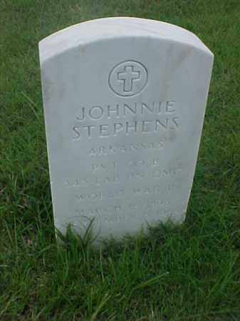 STEPHENS (VETERAN WWI), JOHNNIE - Pulaski County, Arkansas | JOHNNIE STEPHENS (VETERAN WWI) - Arkansas Gravestone Photos