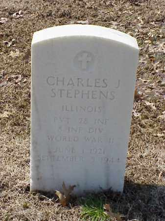 STEPHENS (VETERAN WWII), CHARLES J - Pulaski County, Arkansas | CHARLES J STEPHENS (VETERAN WWII) - Arkansas Gravestone Photos