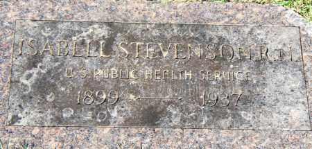 STEPHENSON, ISABELL - Pulaski County, Arkansas   ISABELL STEPHENSON - Arkansas Gravestone Photos