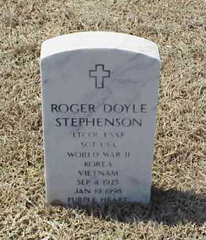 STEPHENSON (VETERAN 3 WARS), ROGER DOYLE - Pulaski County, Arkansas | ROGER DOYLE STEPHENSON (VETERAN 3 WARS) - Arkansas Gravestone Photos