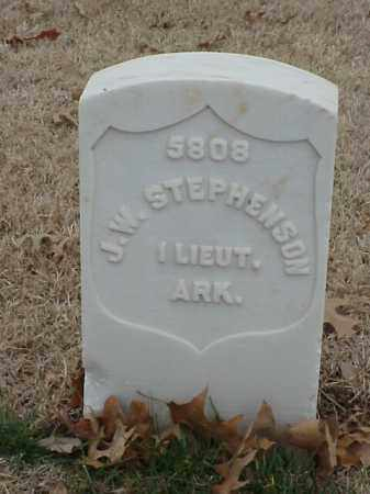 STEPHENSON (VETERAN UNION), J W - Pulaski County, Arkansas | J W STEPHENSON (VETERAN UNION) - Arkansas Gravestone Photos