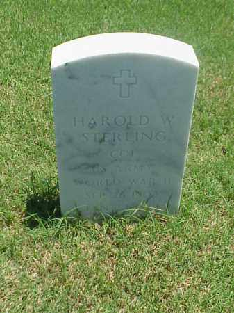 STERLING (VETERAN WWII), HAROLD W - Pulaski County, Arkansas | HAROLD W STERLING (VETERAN WWII) - Arkansas Gravestone Photos