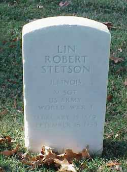 STETSON (VETERAN WWI), LIN ROBERT - Pulaski County, Arkansas | LIN ROBERT STETSON (VETERAN WWI) - Arkansas Gravestone Photos