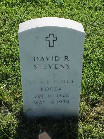 STEVENS (VETERAN KOR), DAVID R - Pulaski County, Arkansas | DAVID R STEVENS (VETERAN KOR) - Arkansas Gravestone Photos