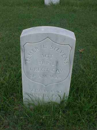 STEVENS (VETERAN SAW), ELMER L - Pulaski County, Arkansas | ELMER L STEVENS (VETERAN SAW) - Arkansas Gravestone Photos
