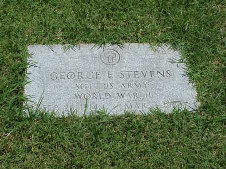 STEVENS (VETERAN WWII), GEORGE E - Pulaski County, Arkansas | GEORGE E STEVENS (VETERAN WWII) - Arkansas Gravestone Photos