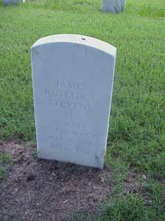 STEVENS (VETERAN WWII), JAMES RUTLEDGE - Pulaski County, Arkansas | JAMES RUTLEDGE STEVENS (VETERAN WWII) - Arkansas Gravestone Photos