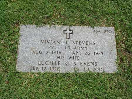 STEVENS (VETERAN WWII), VIVIAN T - Pulaski County, Arkansas | VIVIAN T STEVENS (VETERAN WWII) - Arkansas Gravestone Photos