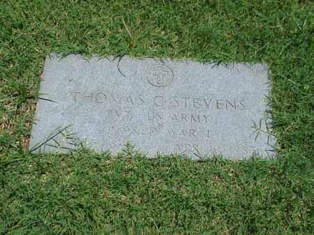 STEVENS (VETERAN WWI), THOMAS C - Pulaski County, Arkansas | THOMAS C STEVENS (VETERAN WWI) - Arkansas Gravestone Photos