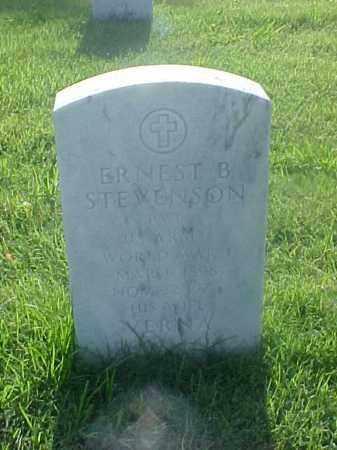 STEVENSON (VETERAN WWI), ERNEST B - Pulaski County, Arkansas | ERNEST B STEVENSON (VETERAN WWI) - Arkansas Gravestone Photos
