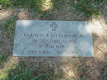 STEVENSON, JR (VETERAN WWII), EARNEST B - Pulaski County, Arkansas | EARNEST B STEVENSON, JR (VETERAN WWII) - Arkansas Gravestone Photos
