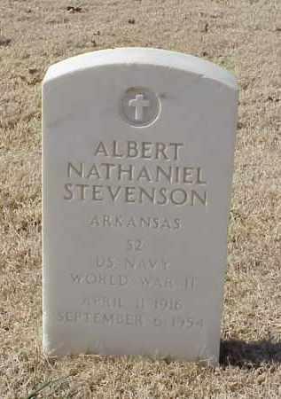 STEVENSON (VETERAN WWII), ALBERT NATHANIEL - Pulaski County, Arkansas | ALBERT NATHANIEL STEVENSON (VETERAN WWII) - Arkansas Gravestone Photos