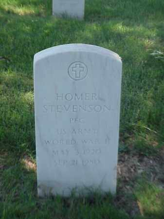 STEVENSON (VETERAN WWII), HOMER - Pulaski County, Arkansas | HOMER STEVENSON (VETERAN WWII) - Arkansas Gravestone Photos
