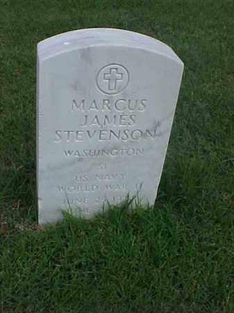 STEVENSON (VETERAN WWII), MARCUS JAMES - Pulaski County, Arkansas | MARCUS JAMES STEVENSON (VETERAN WWII) - Arkansas Gravestone Photos